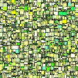 abstract tile mosaic backdrop in green gray