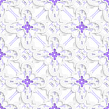 Pattern with white and purple layers