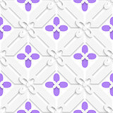 Purple flourish simple diagonal pattern