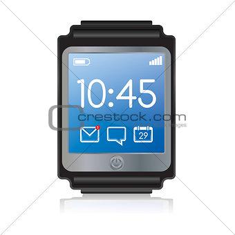 Smartwatch Illustration