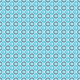 Abstract seamless background with grunge circles. Flat design.