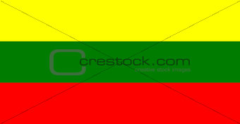 flag of Lithuanian