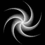 Design monochrome whirl movement background