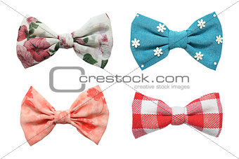 Four bows tie collection