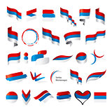 biggest collection of vector flags of Serbia Montenegro