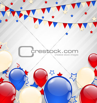 American background for Independence Day