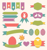 Easter scrapbook set - labels, ribbons and other elements (3)