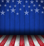 USA style background, empty wooden table