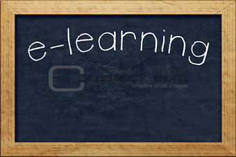 chalkboard e-learning