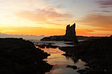 Sunrise at Cathedral Rocks, Kiama Downs Australia