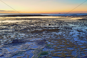 Beautiful Long Reef, NSW Australia just before sunrise