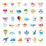 biggest collection of vector logos flights