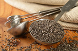 Healthy organic chia seeds