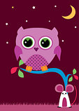 OWL IN THE NIGHT 1
