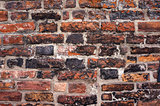 Old brick wall texture.