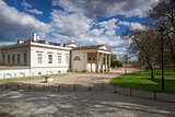 Ethnographical Museum in the park in Prague