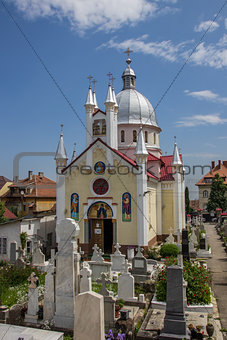 Church of saint Paraschiva in Brasov