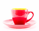 Red Color Cup