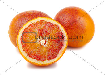 Bloody red oranges