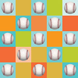 Baseball Pattern Background