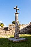 Cross in Castro Park, Vigo.