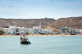 View to Sur bay in Oman