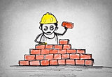 Drawn Bricklayer