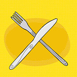 Knife Over Fork