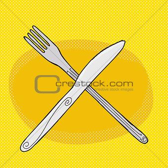 Knife Over Fork