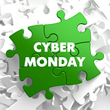 Cyber Monday on Green Puzzle.