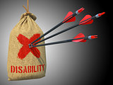 Disability - Arrows Hit in Target.