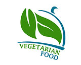 Vegetarian Restaurant symbol