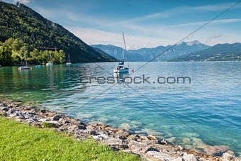 Attersee lake in Austria