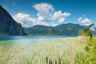 Mondsee lake in Austria