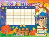 School timetable composition 1