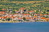 Coastal village of Posedarje in Dalmatia