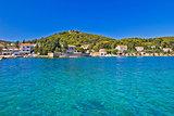 Island of Ugljan turquoise coast
