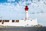 Lighthouse in Mahdia, Tunisia