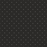 Seamless vector pattern with grey polka dots on black background