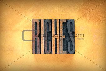 Riches Letterpress