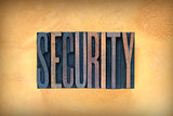 Security Letterpress