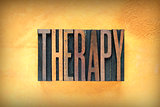 Therapy Letterpress