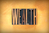 Wealth Letterpress