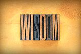 Wisdom Letterpress