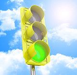 the traffic light