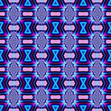Seamless fractal pattern in a bright colors