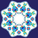 Ottoman motifs design series sixty six