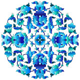 Ottoman motifs design series sixty three
