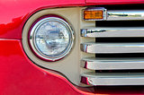 headlight on old truck