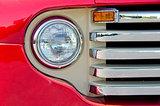 headlight on old truck